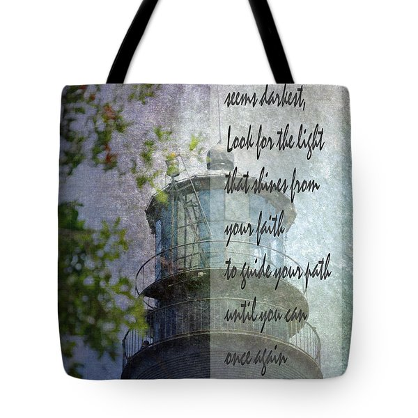 Beacon Of Hope Inspiration Tote Bag