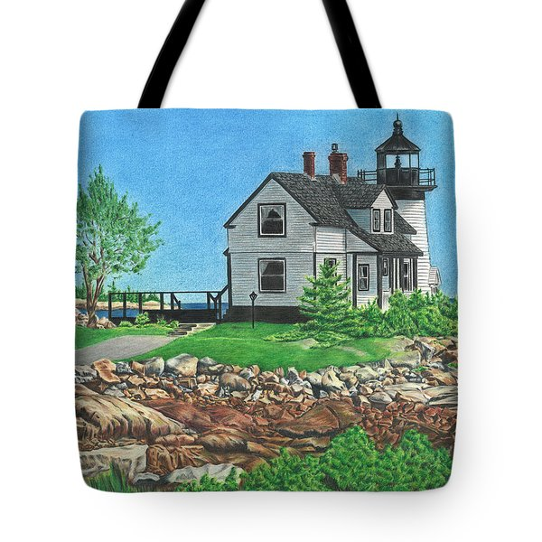 Beacon Of Hope Tote Bag by Troy Levesque