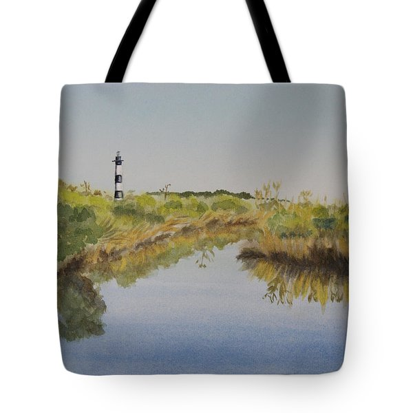 Beacon On The Marsh Tote Bag