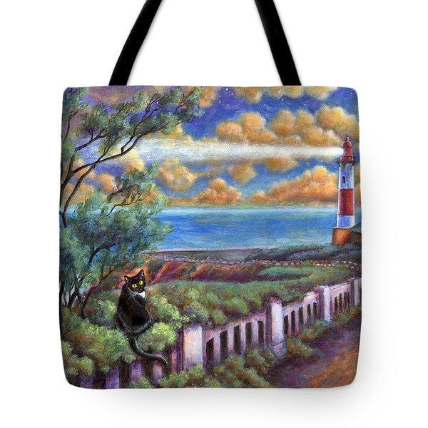Beacons In The Moonlight Tote Bag
