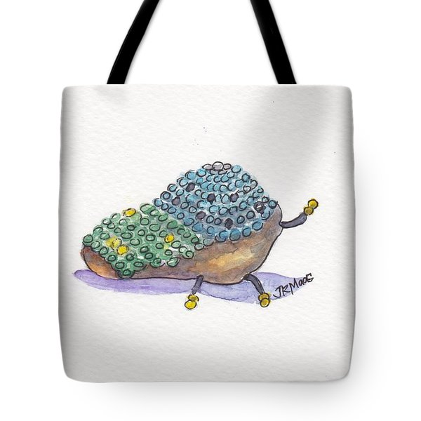 Beaded Bug Tote Bag by Julie Maas