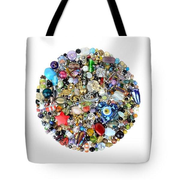 Beads And Charms Tote Bag
