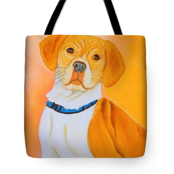 Beagle Pit Mix Tote Bag