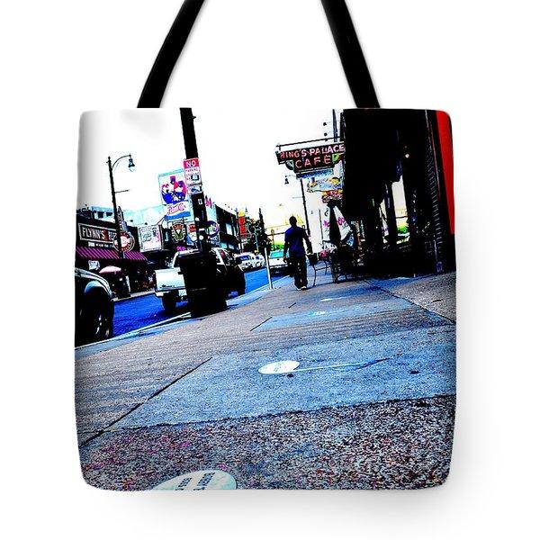 Beale Street Strolling Tote Bag
