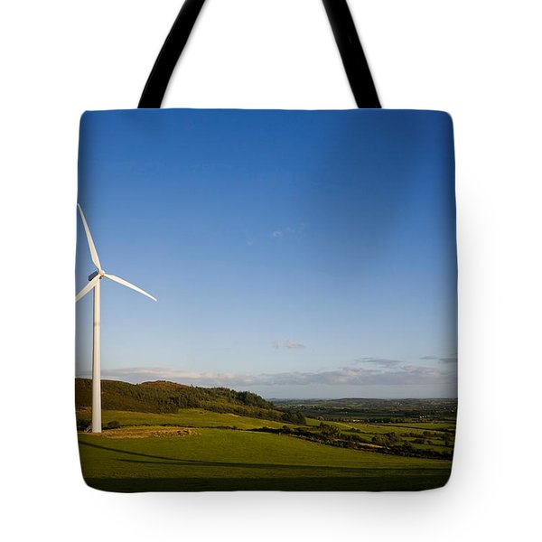 Beallough Windfarm, Above Portlaw Tote Bag