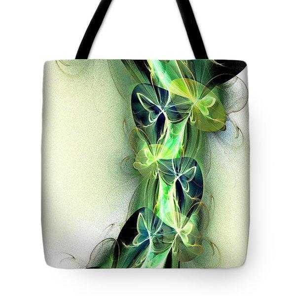 Beanstalk Tote Bag by Anastasiya Malakhova