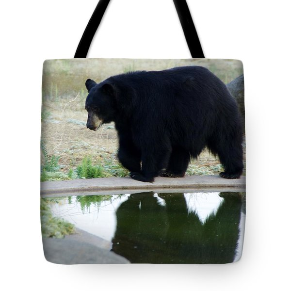 Bear 2 Tote Bag