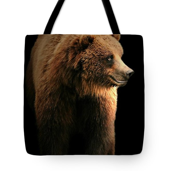 Bear Essentials Tote Bag by Diana Angstadt