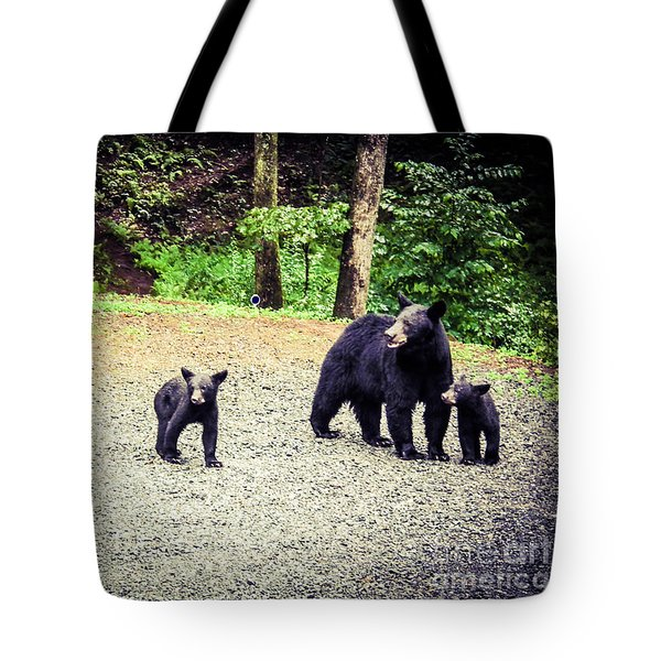 Bear Family Affair Tote Bag by Jan Dappen