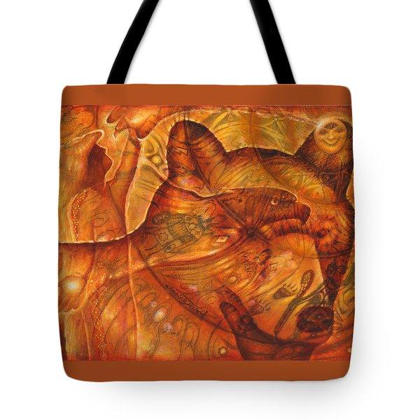 Bear Hands Tote Bag