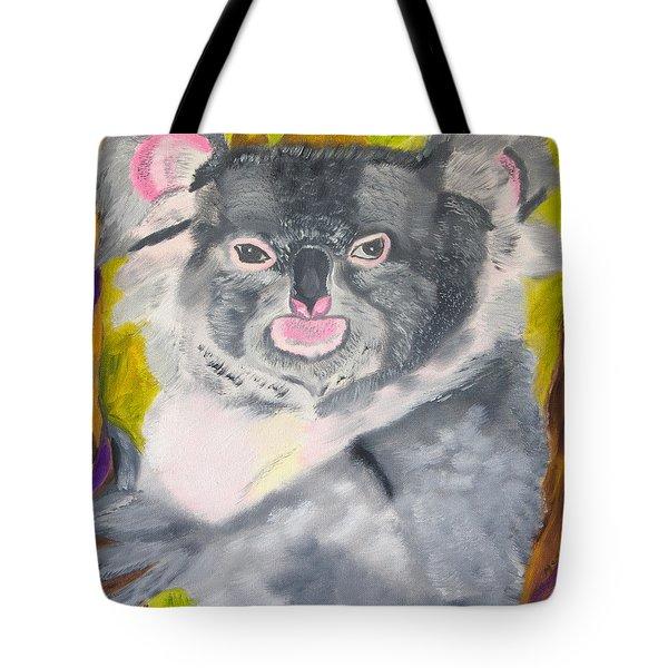Koala Hug Tote Bag