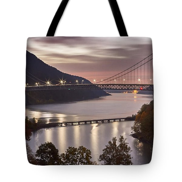 Bear Mountain In The Fall Tote Bag