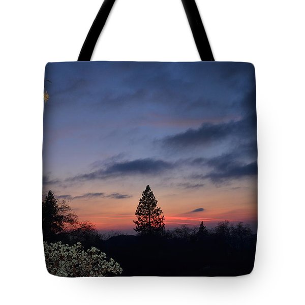 Bear Mountain Peaking Tote Bag
