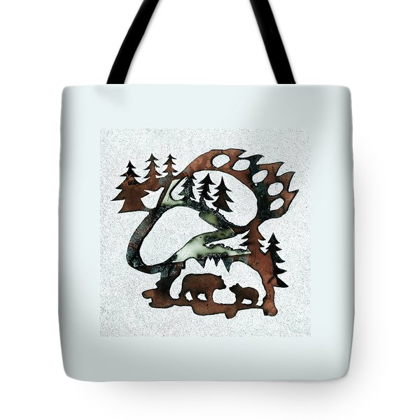 Bear Paw II 21 Tote Bag