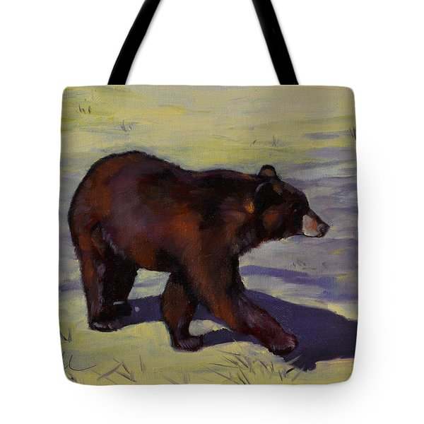 Bear Shadows Tote Bag