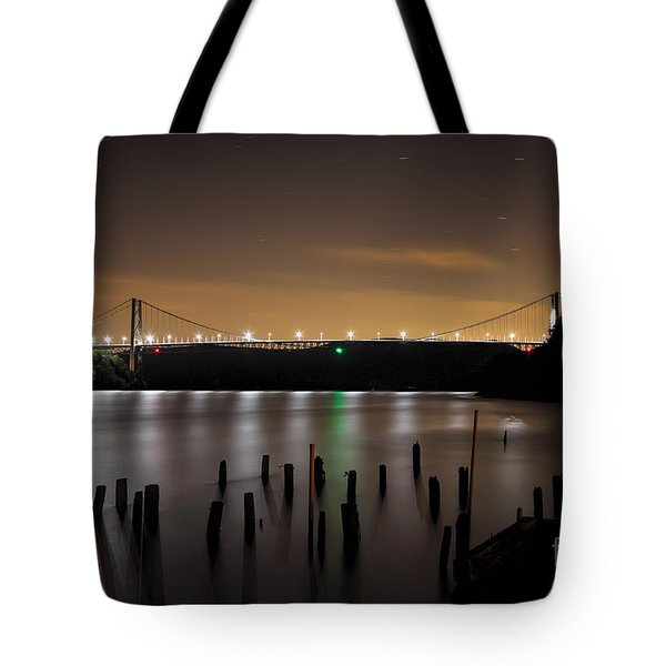 Bear Under The Sky Tote Bag