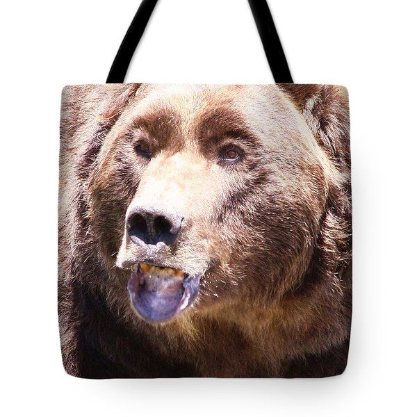 Bearing My Teeth Tote Bag