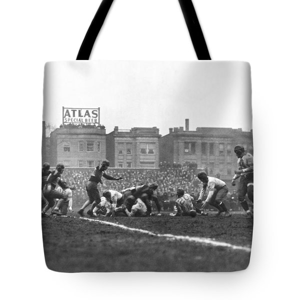 Bears Are 1933 Nfl Champions Tote Bag