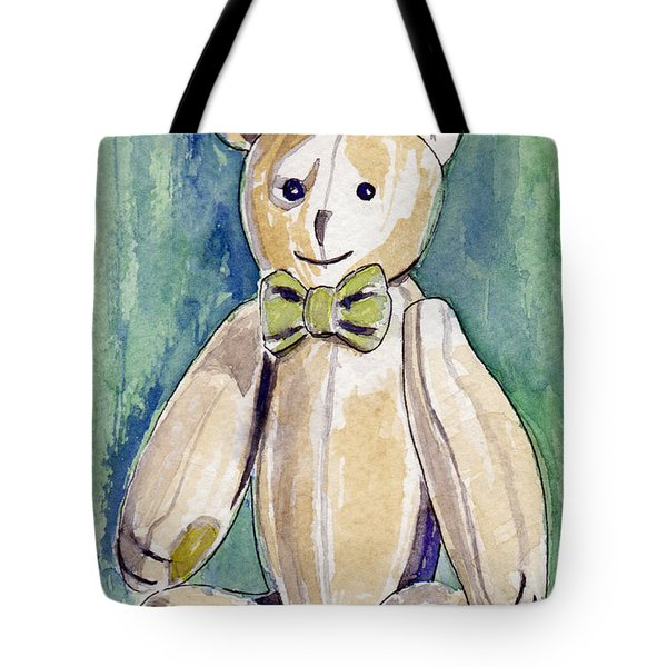 Beary Well Thank You Tote Bag by Julie Maas