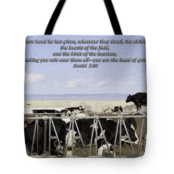 Beasts Of The Field Tote Bag