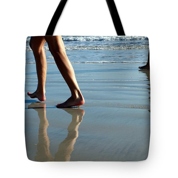 Beat Feet Tote Bag by Irma BACKELANT GALLERIES