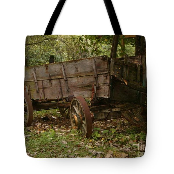 Tote Bag featuring the photograph Beaten By Time by Sara  Raber