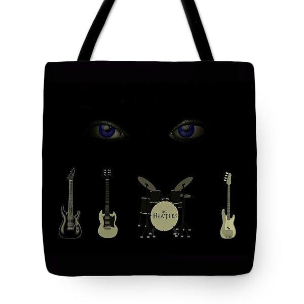 Beatles Something Tote Bag