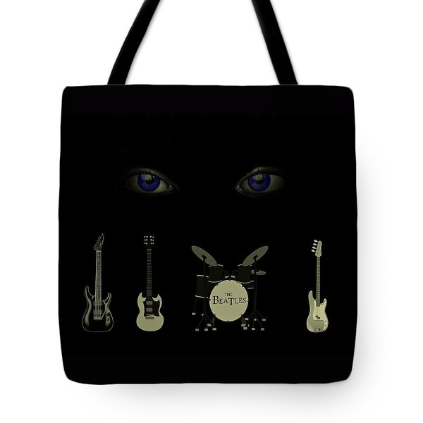 Beatles Something Tote Bag