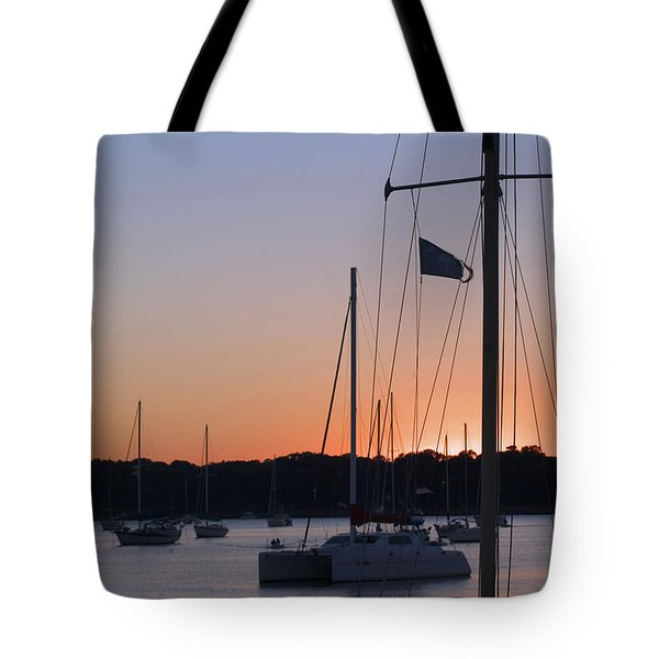 Beaufort Sc Sunset Tote Bag