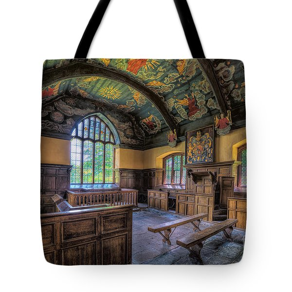 Tote Bag featuring the photograph Beautiful 17th Century Chapel by Adrian Evans