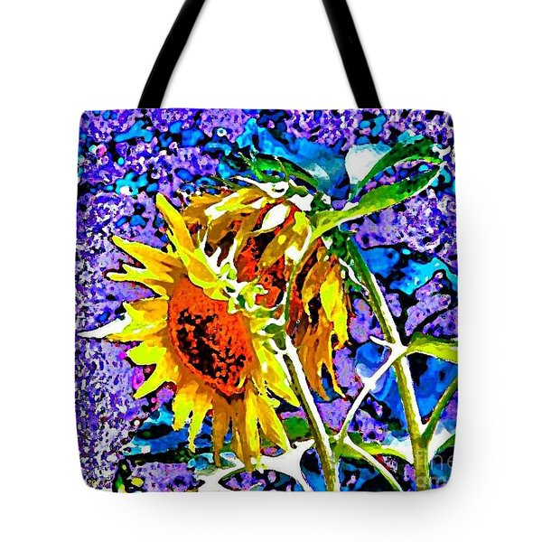Beautiful And Bright Sunflowers Tote Bag