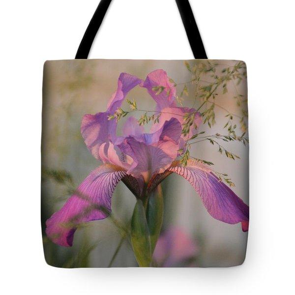 Beautiful And Mystical Iris  Tote Bag