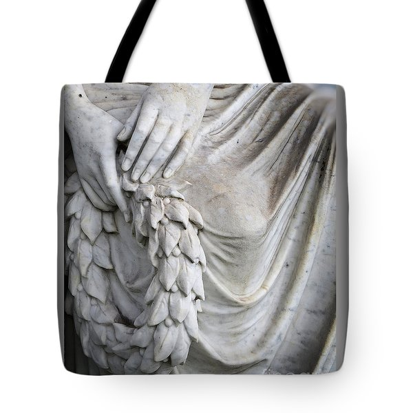 Beautiful Angel Healing Touch Tote Bag