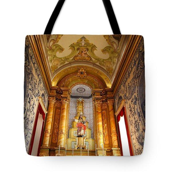 Beautiful Azorean Church Tote Bag by Gaspar Avila