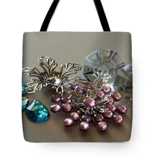 Beautiful Baubles Tote Bag by Theresa Johnson