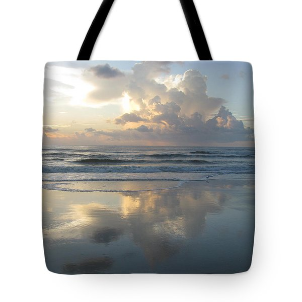 Beautiful Beach Sunrise Tote Bag