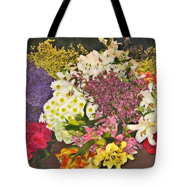 Tote Bag featuring the photograph Beautiful Blooms by Judith Morris