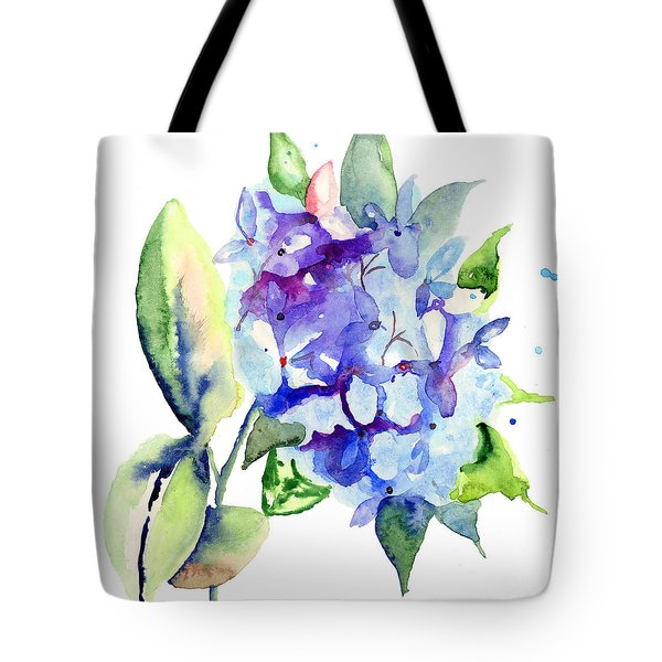 Beautiful Blue Flowers Tote Bag