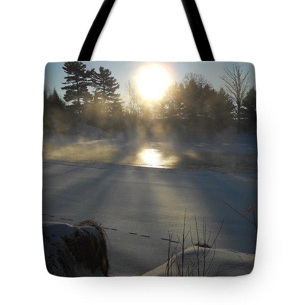 Beautiful Brisk Morning Tote Bag