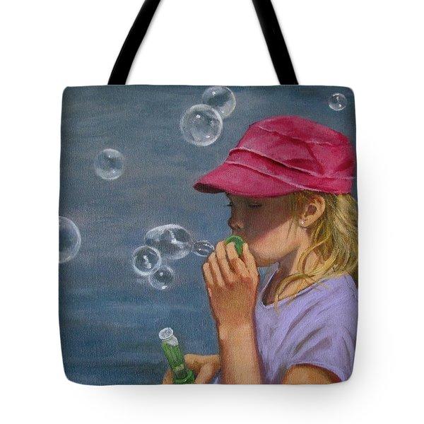 Beautiful Bubbles Tote Bag by Joyce Geleynse