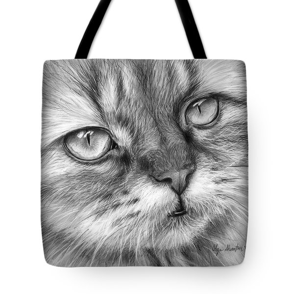 Beautiful Cat Tote Bag