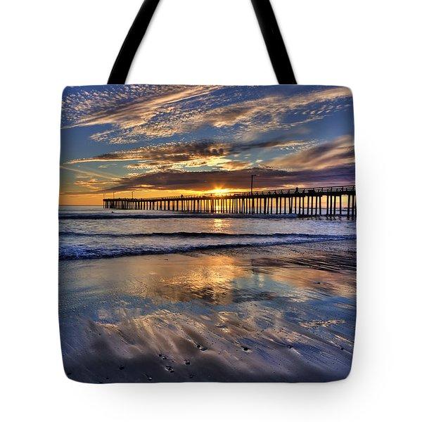 Beautiful Cayucos Tote Bag