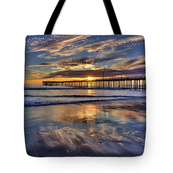 Beautiful Cayucos Tote Bag