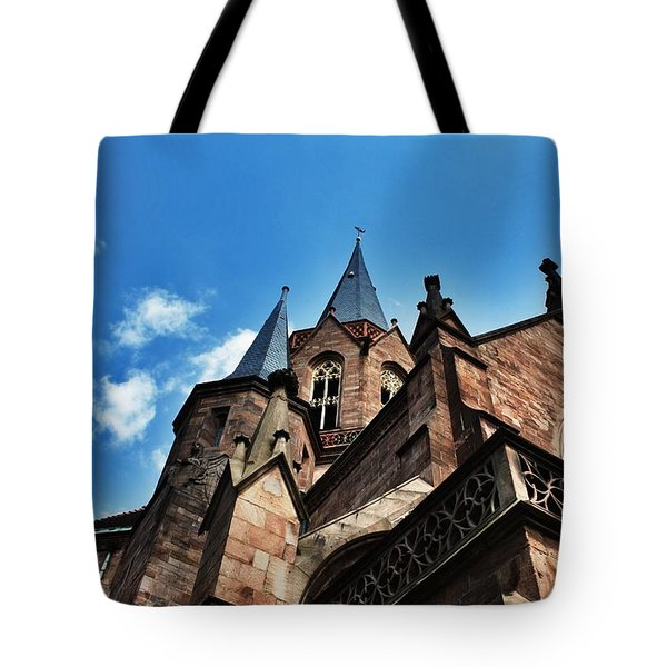 Beautiful Church  Tote Bag by Daniel Precht