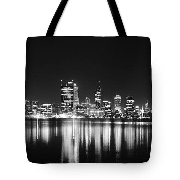 Beautiful City Skyline Tote Bag