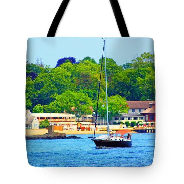 Beautiful Day For Sailing Tote Bag