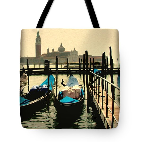 Tote Bag featuring the photograph Beautiful Day In Venice by Brian Reaves