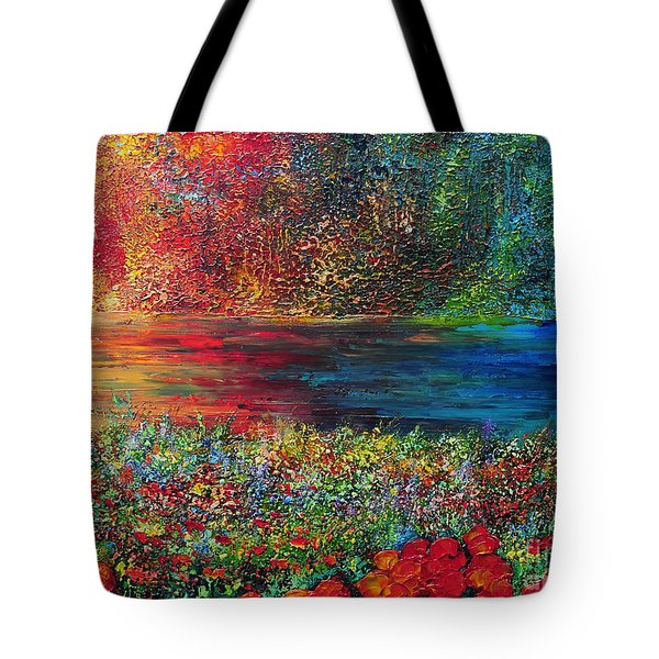 Beautiful Day Tote Bag by Teresa Wegrzyn