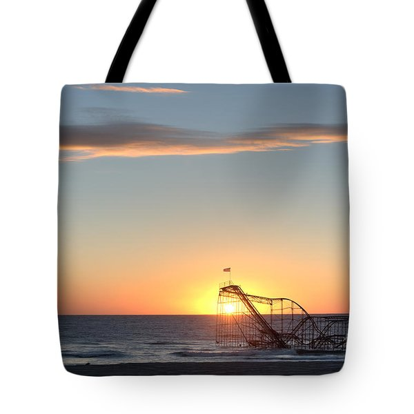 Beautiful Disaster Tote Bag by Michael Ver Sprill
