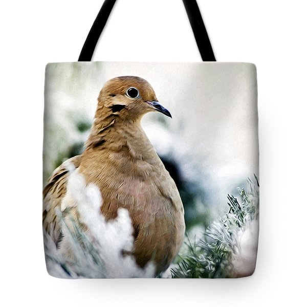 Beautiful Dove Tote Bag